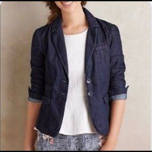 Anthropologie Pilcro and the Letterpress Blazer-XS
